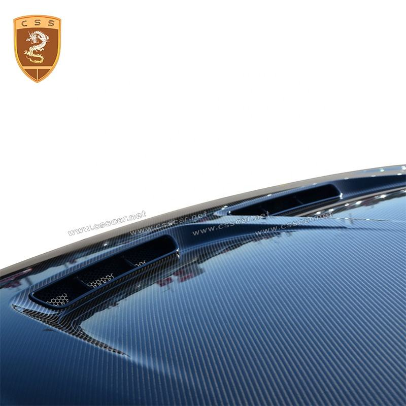 New Arrival SVR Style Carbon Fiber Car Hood Scoop Bonnet For Range Rover Sport SVR Engine Hoods
