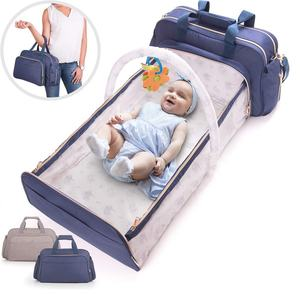 Newest mommy backpack multifunction 3 in 1baby diaper bag