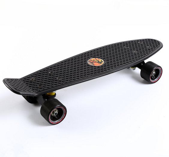 Popular New Designed ABE-7 70kgs Top ABS Deck Material OEM Fish Shape Skateboard