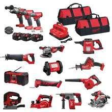 running sets MilWauKees 2695-15 M18 2896-26 M18 FUEL 18V Cordless Lithium-Ion Combo Tools Kits