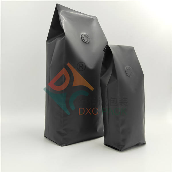 250g heat seal side gusset recycle coffee packaging