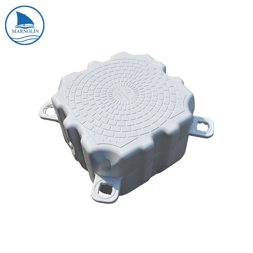 Marine parts accessories marine accessories for boat floating dock plastic pontoon cubes