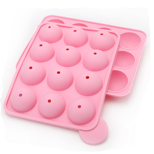 Lovely Lolly Pop Molds New Cookie Mould Silicone Lollypop Cake Mold