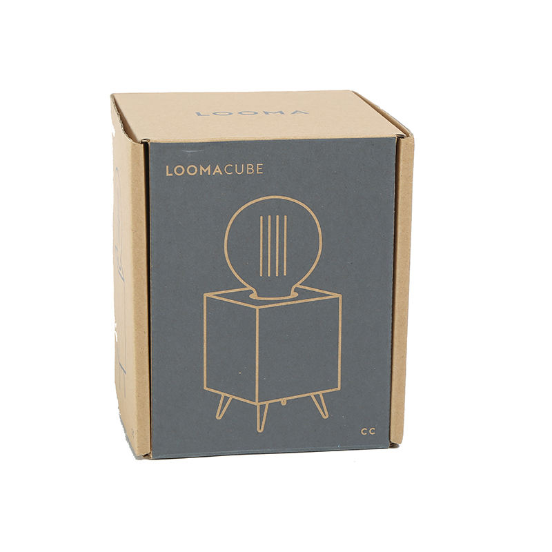 Printed logo rigid small size folding home appliance packaging box corrugated cardboard paper mailer box packaging shipping box