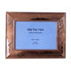 3.5X5'' China supplier digital picture frame beautiful aluminum double sided glass picture frame