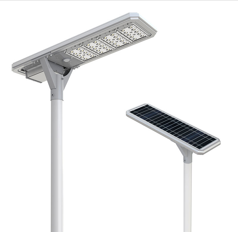 5 years warranty strong lux output 20w 30w 40w led solar street lighting antique solar street lamp