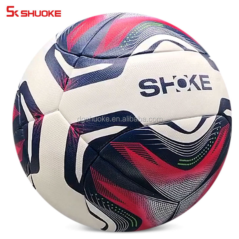 Chinese Suppliers Promotional Quality Thermal Bonding Lamination Soccer Ball Football