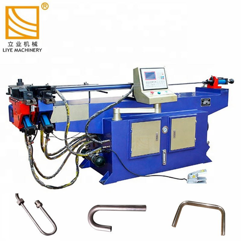 DW38NC Hydraulic tube bender/stainless steel pipe bending machine