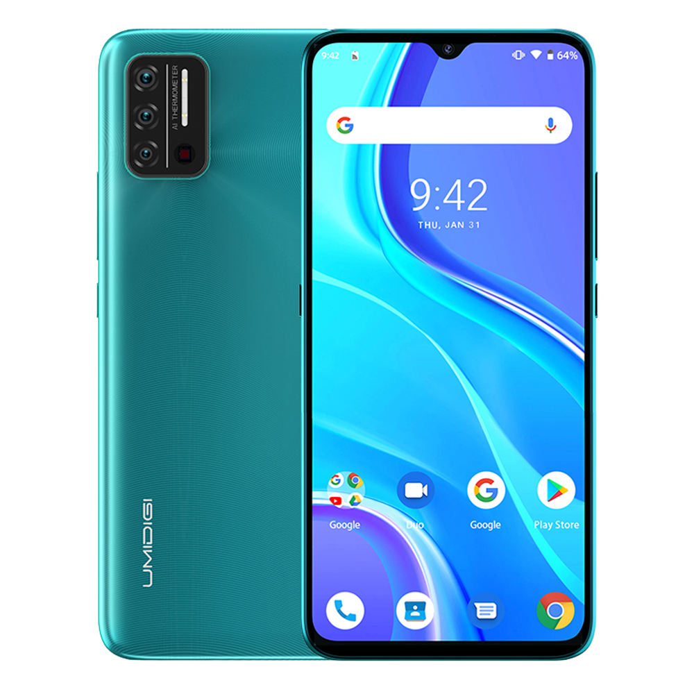 "UMIDIGI A7S Smartphone 4G 6.53"" 20:9 Large Full Screen 32GB 4150mAh Triple Camera Mobile Phone 4G Infrared Temperature Sensor"