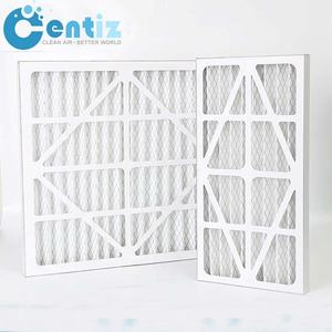 High Efficiency Pleated Air Filters Paper for Production Air Filter Synthetic Fiber Paper Frame Air Filter