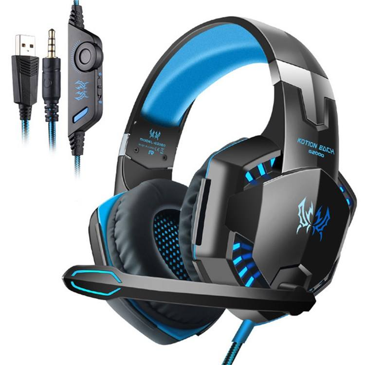 Hohe <span class=keywords><strong>Qualität</strong></span> kotion jeder <span class=keywords><strong>G2000</strong></span> Headset 7,1 Noise Cancelling Mikrofon barato RGB audifonos gamer kopfhörer für PS4,PC