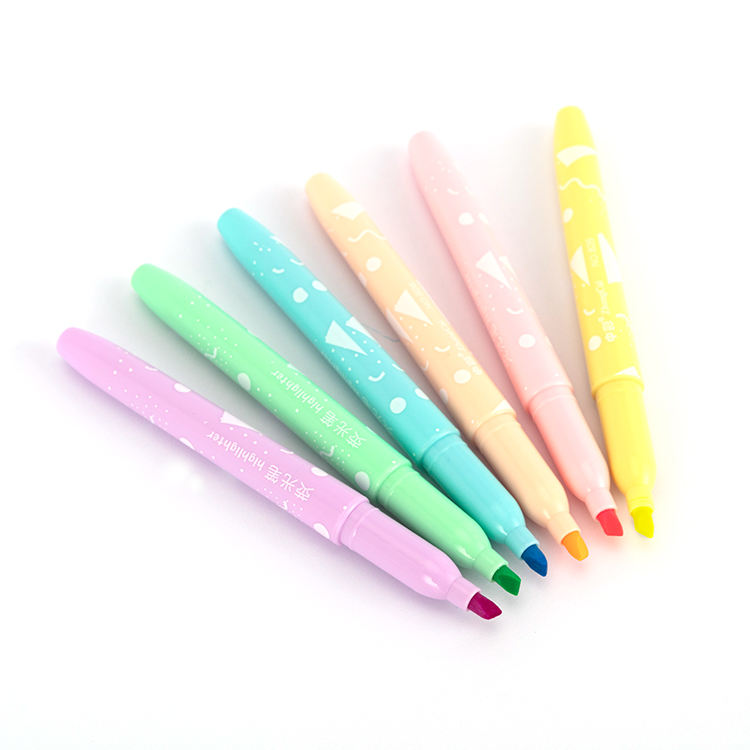 Highlighter Marker 4 Color Pens Stationery Office School Supplies and Coloring Markers Supplies