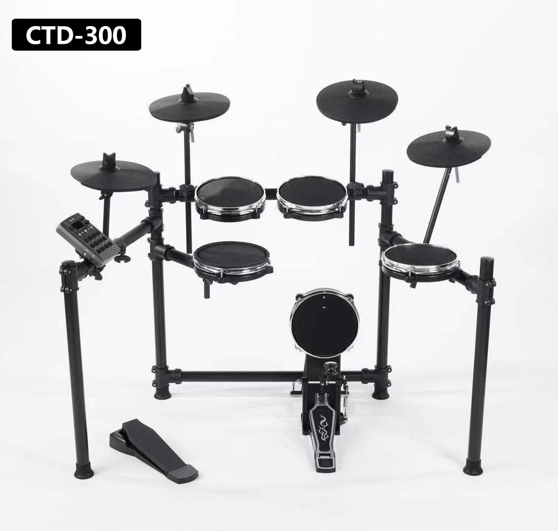High quality folded circle CTD-300 digital Electronic aroma Drum Set