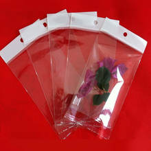 OPP Multi-size Card head bag Self-adhesive Hanging Transparent plastic packaging pouch Jewelry accessories packaging pouch