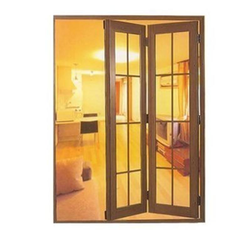 Esterno porta a doppia porta doppi <span class=keywords><strong>vetri</strong></span> bi-<span class=keywords><strong>pieghevole</strong></span> porta in vetro per la vendita di alluminio di vetro frameless bi fold