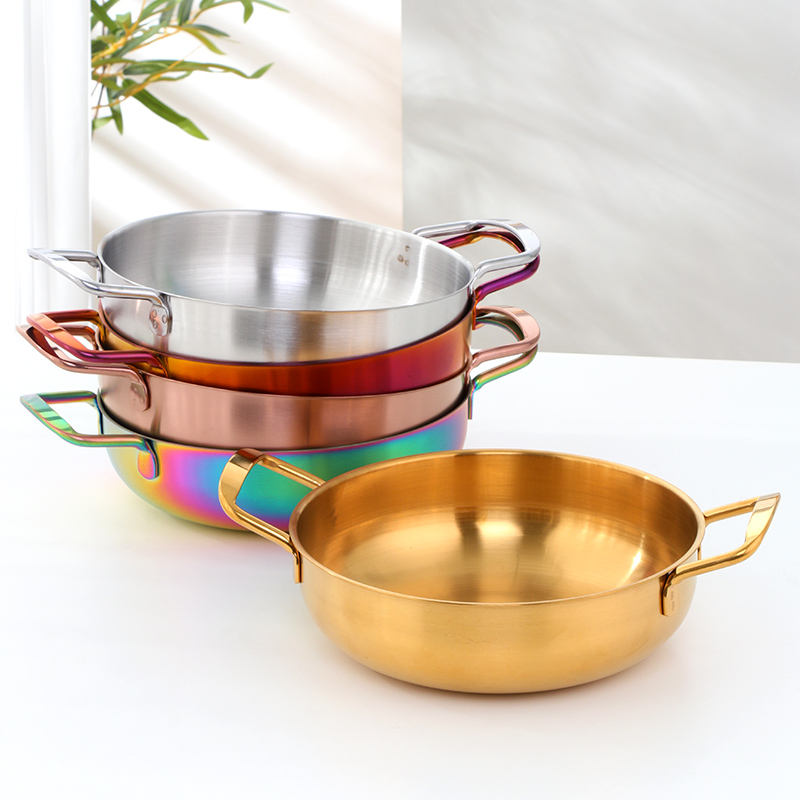 Dinnerware Cooking Cookware Sets Kitchen Stainless Steel Soup Pot