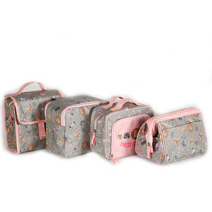 Travel Cosmetic Bags PVC for Makeup Product Collection  Makeup Bags Private Label