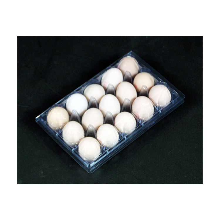 hot sale tray Eco-Friendly Wholesale customized Holds 15 Eggs Clear nest box chicken eggs