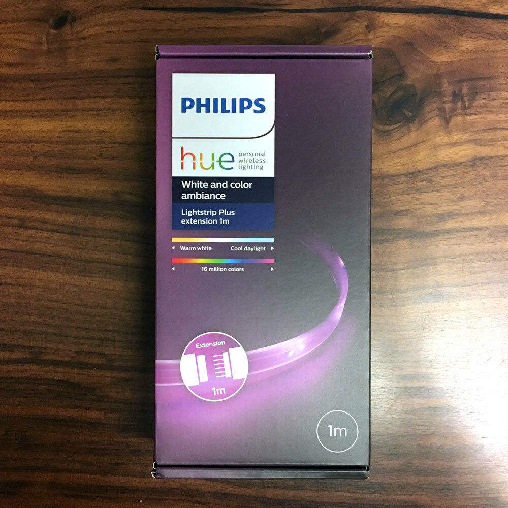 PHILIPS Hue White and color ambiance LightStrip Plus APR Ext 1M 40inch Smart LED