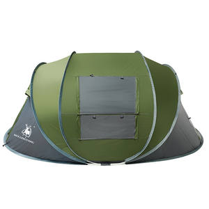 New trend wholesale oem customized camping outdoor supplies automatic tent for 1-2 people
