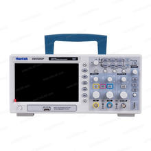 Digital Oscilloscope 200MHz Hantek DSO5202P bandwidth 2 Channels PC USB LCD Portable Osciloscopio Portatil Electrical Tools