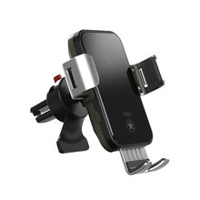 15W Wireless Automatic Sensor Car Phone Holder And Smart phone Wireless Charger