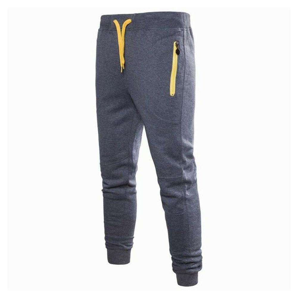 Men Cotton for Gym Training Fitness Quick Dray black jogger Sweat pants