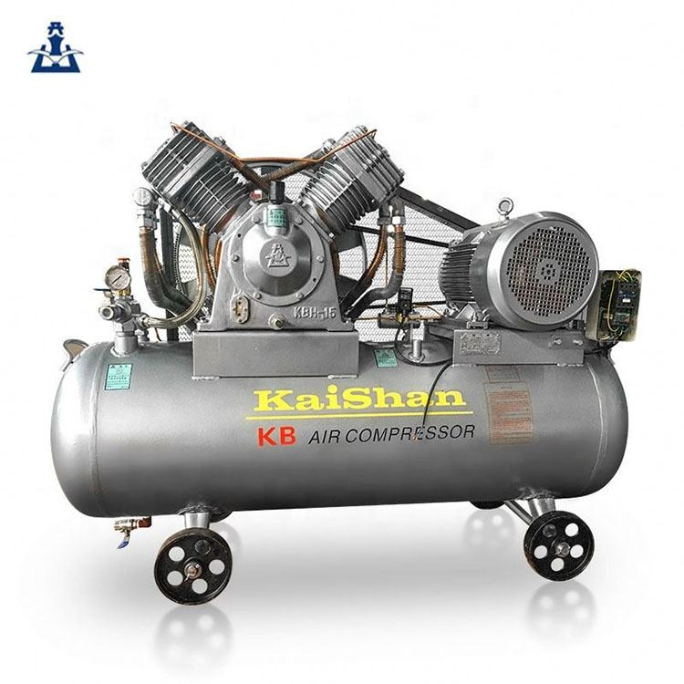 high efficiency 2 stage high pressure 30bar 435psi piston air compressor