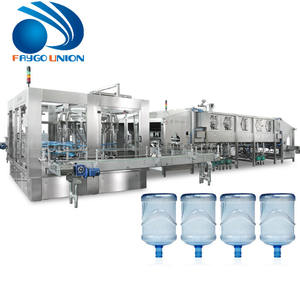 Manufacturers cost price turnkey complete 3 in 1 monoblock 5l 5 gallon pure mineral water bottling plant