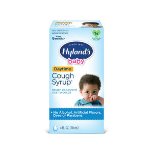 Hyland's baby cough syrup dry wet moist