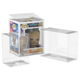 Top selling protector case funko pop, Acid-free Crystal PET Funko Popacid free Protector