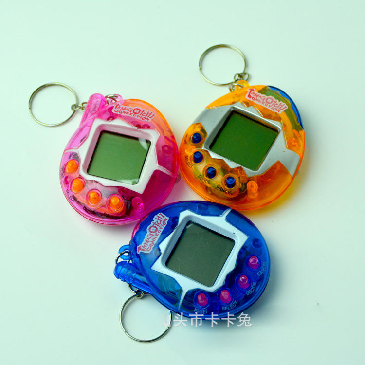 Electronic Pet Toy Virtual Pet puzzle Retro Cyber Funny Juguetes Tumbler Ver Toy For Children Handheld Game Machine