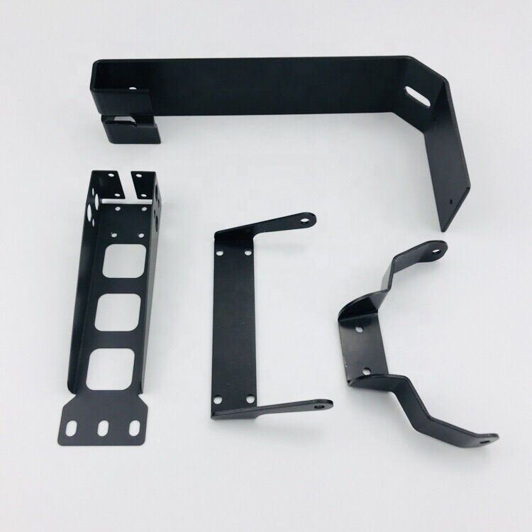 Sheet parts fabrication Angle aluminum corner Iron adjustable J Shelf l Metal Brackets