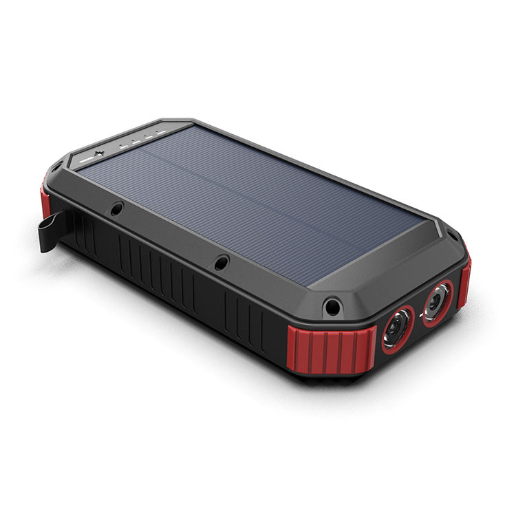 Newest Fast Charging Battery Solar Power Bank Portable 30000mAh For Mobile Phone