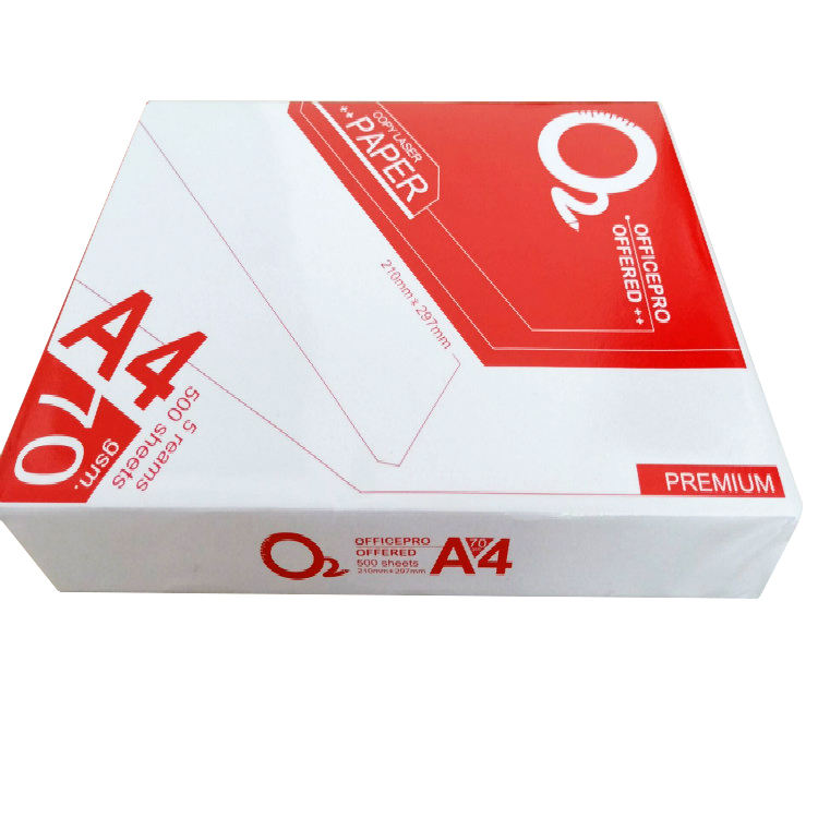 Custom A4 Size High Quality Office Photocopy Printing Paper 70gsm White Double Copy Paper