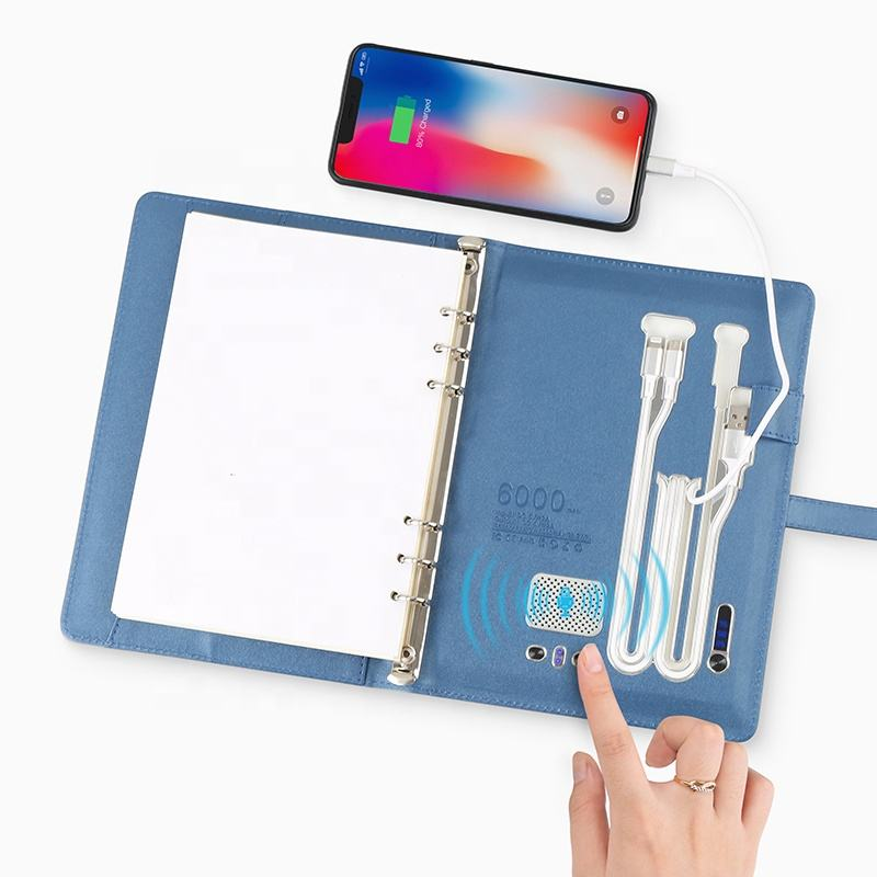 Regalo <span class=keywords><strong>di</strong></span> promozione Set Powerbank USB Notebook Planner <span class=keywords><strong>Diario</strong></span> Con La Penna