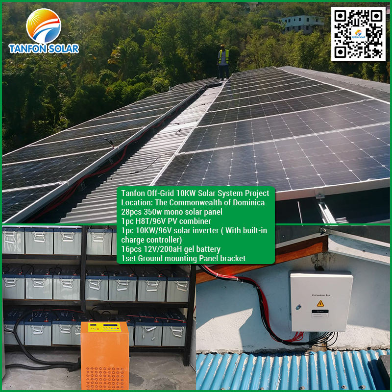 solar panel system complete set 5KW 10KW electricity generating installation 20KW solar energy system for home solar kits