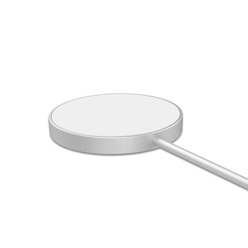 New Product Alloy 2021 Magsafe Magnetic Wireless Charger For Iphone 12/Samsung QI Series