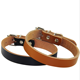 Accessories Dog Cheng Yi Pet Accessories Cat Supplies Classic Solid Color Leather Pet Collar Cowhide Dog Collar