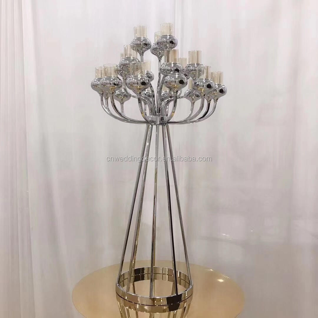China Silver Table Candle Holder China Silver Table Candle Holder Manufacturers And Suppliers On Alibaba Com