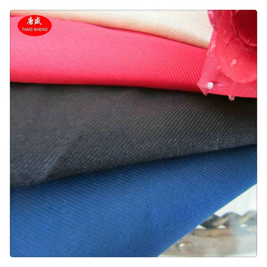 Recycled Gabardine Fabric 100% Polyester 300D Twill Gabardine Cap Fabric High Quality
