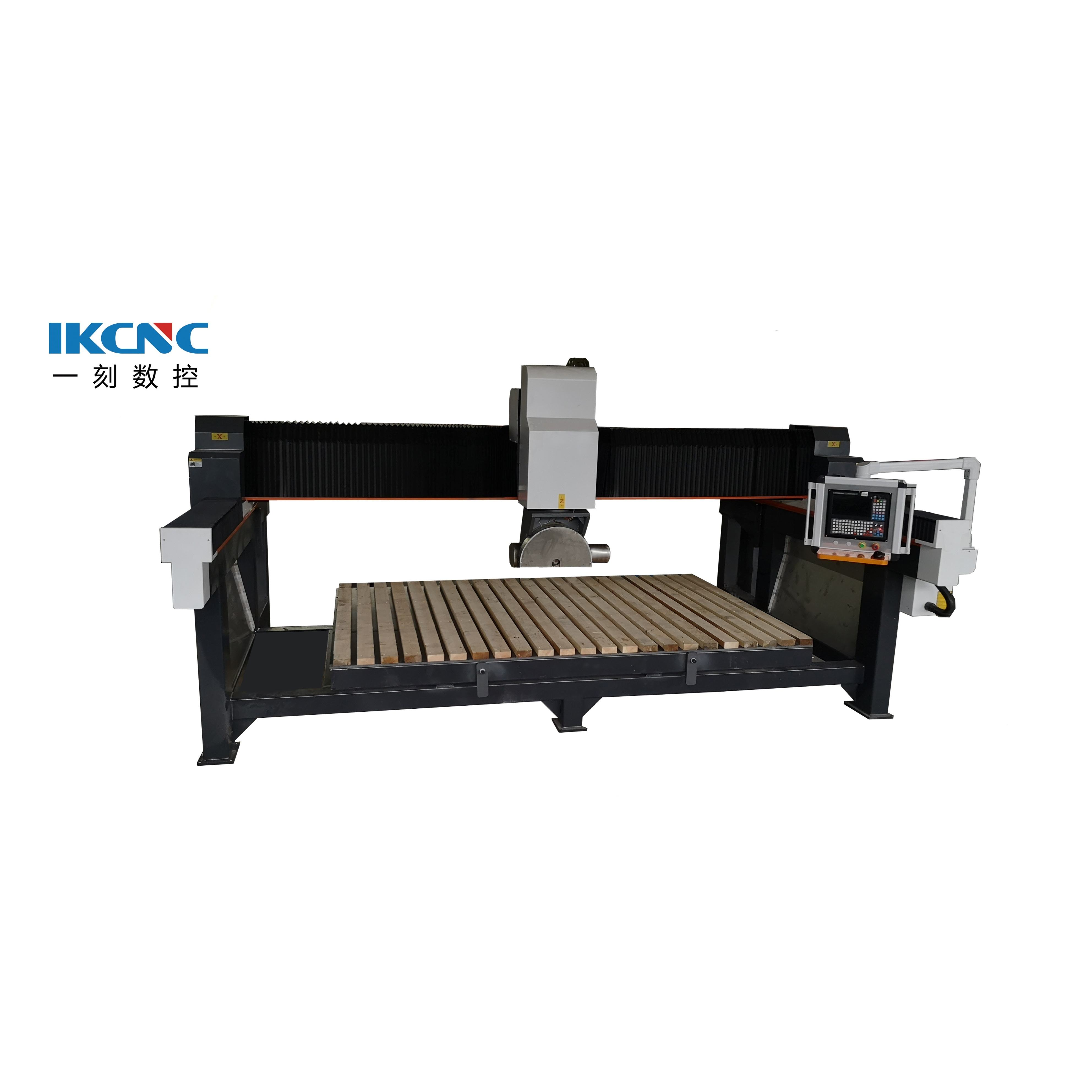 Widely Used Cnc Stone 5 Axis Granite Bridge Saw Cutting Cnc Marble Sculpture Machine For Sale