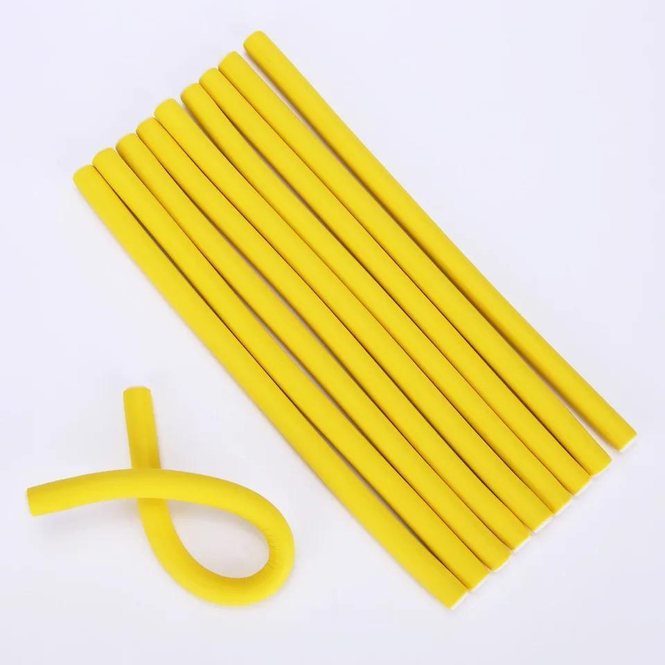 Wholesale Multicolor Curling Rods Hair Soft Twist Foam Bendy Hair Curler
