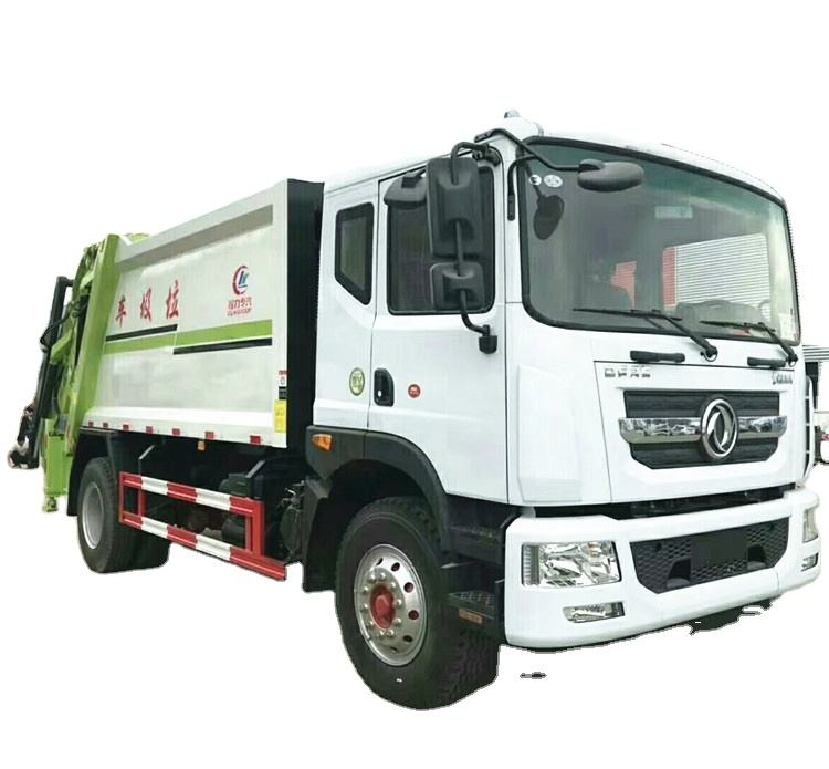 Dongfeng 6 wheel 12000L garbage compactor truck