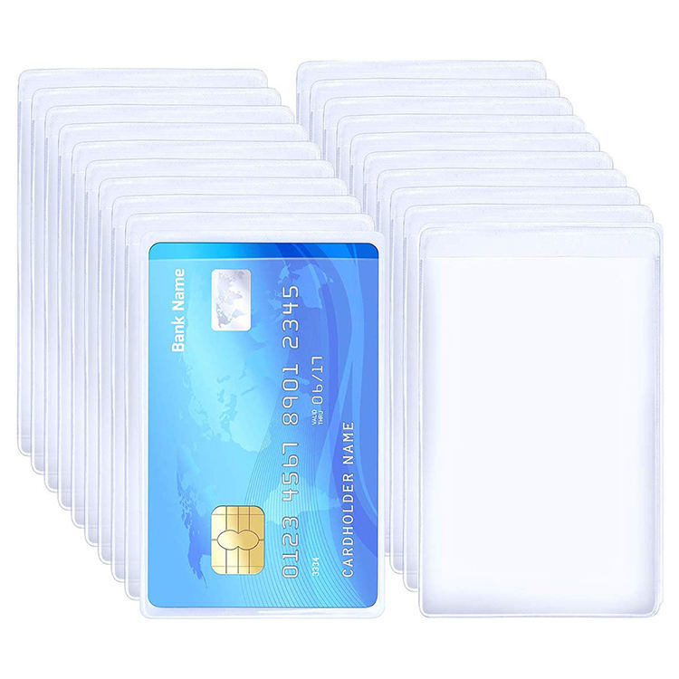 Good Price Factory Direct PVC Credit Card Holder