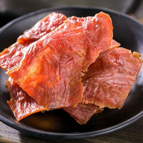 2020 hot sale Wholesale Manufacturer 100g Spicy Pork Jerky for Snack Food