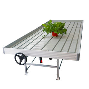 Ali baba top sellers greenhouse agricultural hydroponics automated ebb and flow system