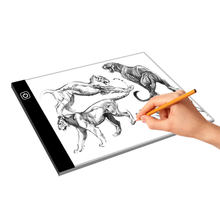 A4 Ultra Slim LED Drawing Light Box A4 LED drawing Board Tracing Light Pad For School