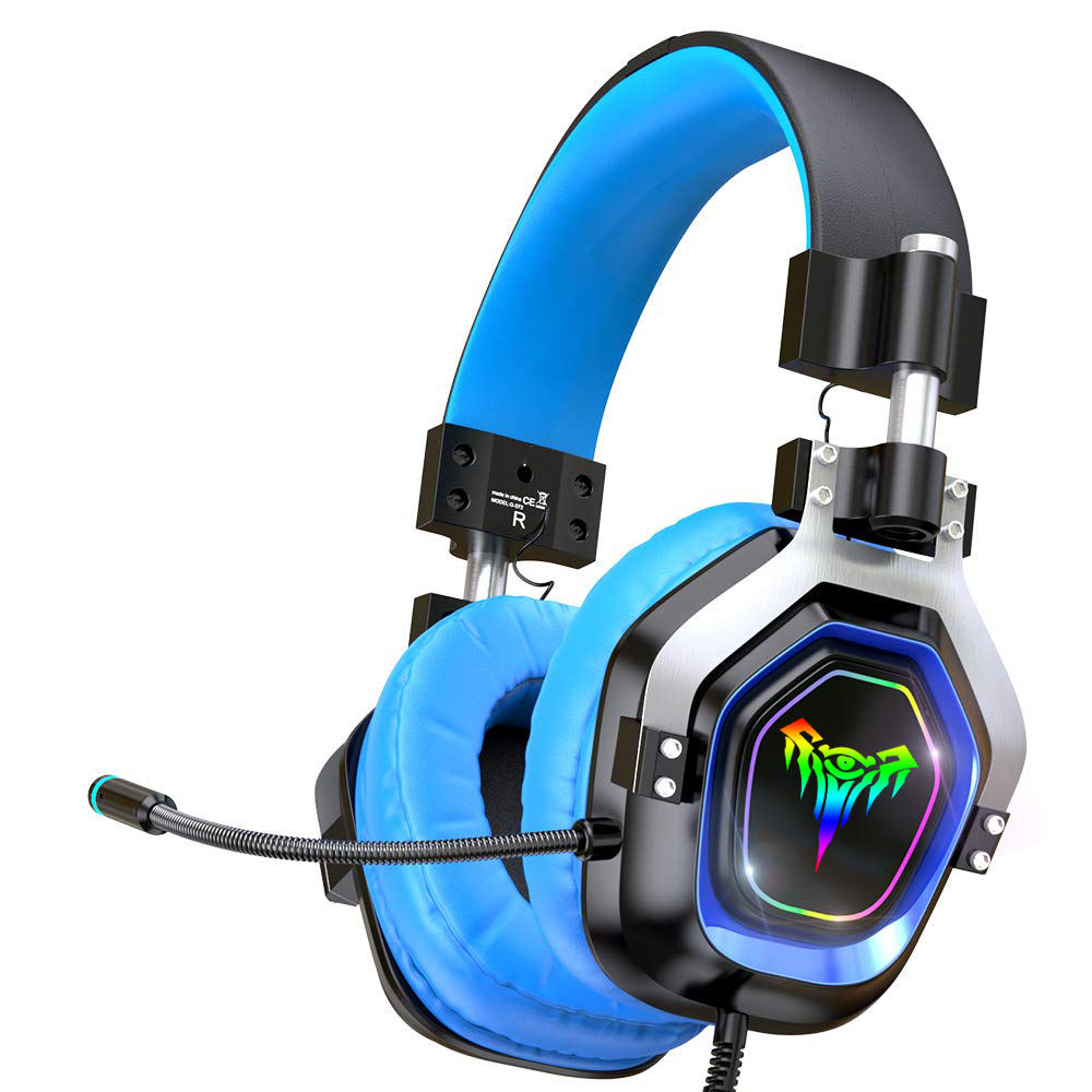 2020 Newest Private xbox one gaming headset 4 speakers Surround sound gaming headphone for ps4 laptop headset gamer
