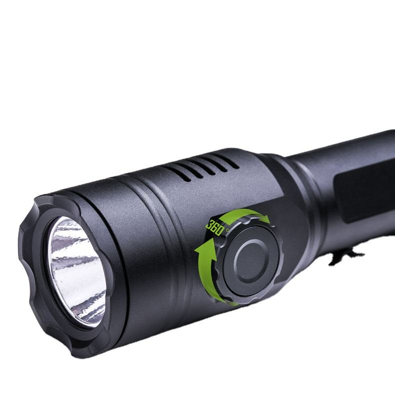Nextorch T53 Hunting Flashlight Multi Colors Light Rechargeable Long Range Torch Green Red White RGW 3 in 1 Camping LED 5-year